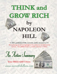 Think and Grow Rich ebook cover